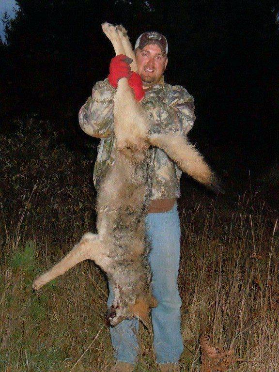 "This ""sportsman"" took to the Wisconsin Wolf Hunting Facebook page hate site to brag that he trapped and killed this 50 pound 5 month old wolf pup."